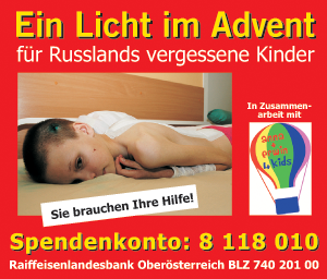 Ein Licht im Advent - Russlands vergessene Kinder